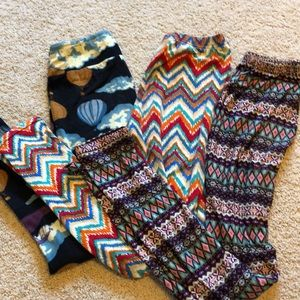 Set of three LuLaRoe leggings